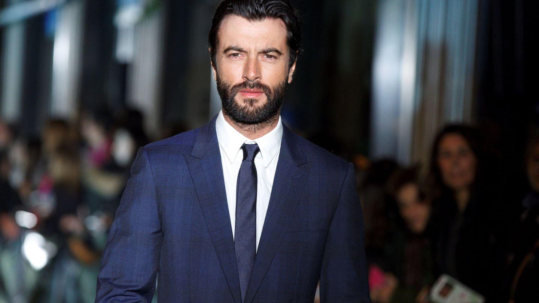 El actor Javier Rey, en un estreno en Vitoria. (EFE)