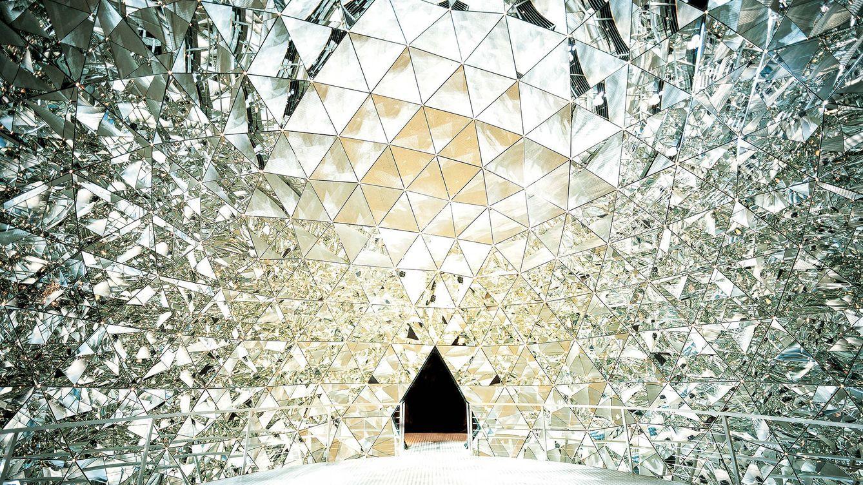 Foto: Swarovski Crystal Worlds, en la localidad de Wattens (2012).