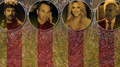 Shakira, Andic, Iniesta y los Estopa: todos escogen Esplugues, la Moraleja de Barcelona