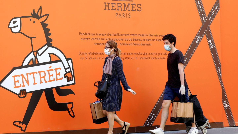 Con ganas de shopping. (Reuters)