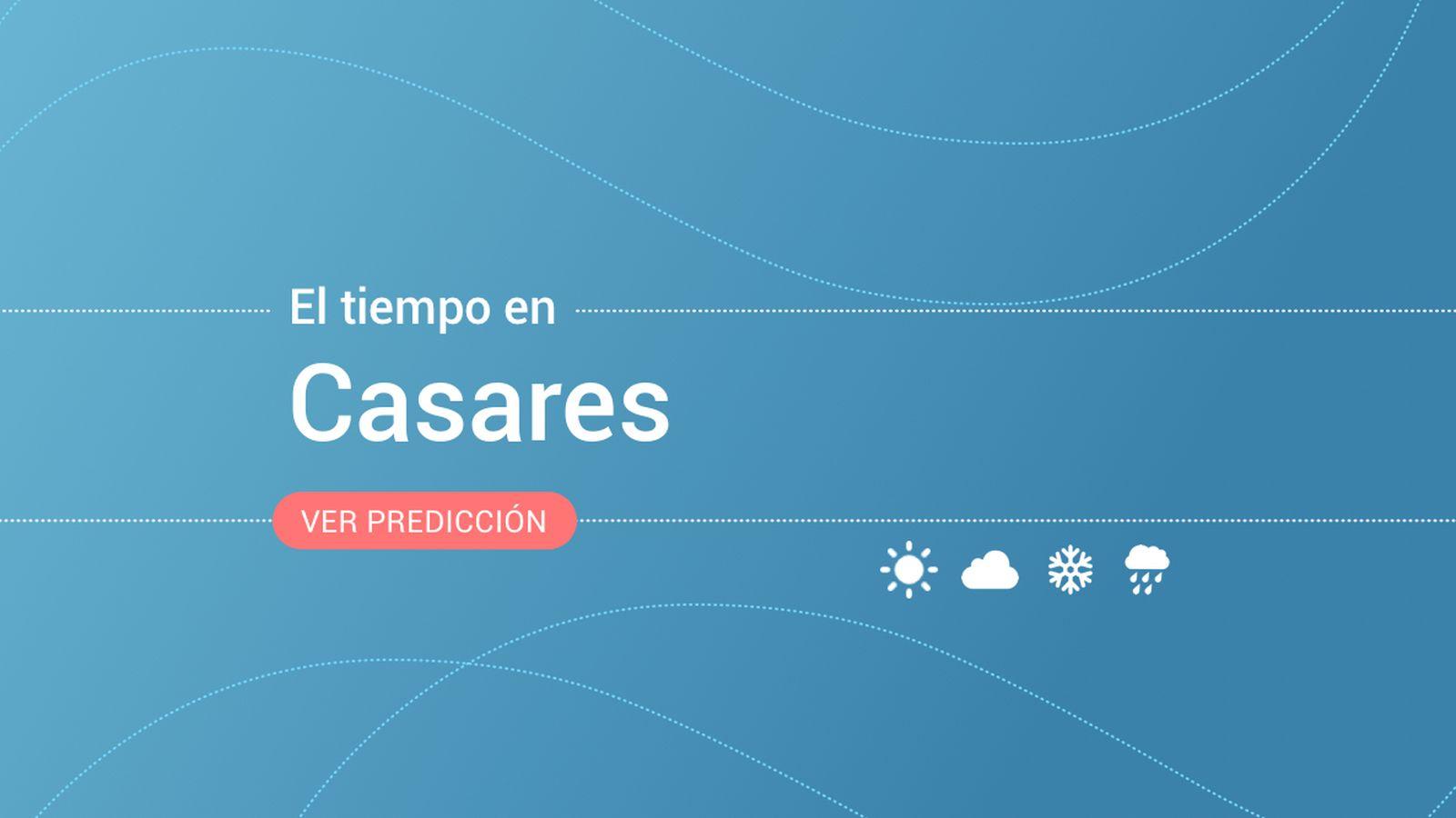 Foto: El tiempo en Casares. (EC)