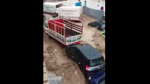 Un hombre muere en Granada tras ser arrastrado su coche por una riada