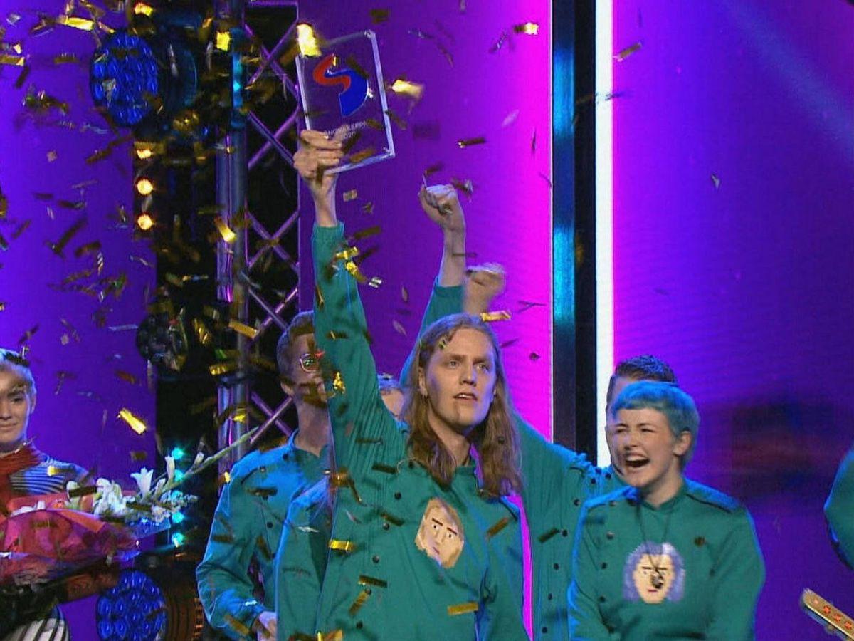 Foto: Daði og Gagnamagnið, representantes de Islandia en Eurovisión 2020. (Eurovision.tv)
