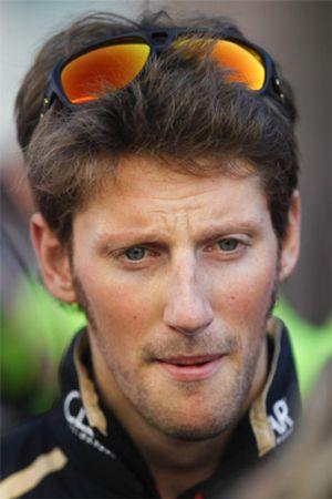 Romain Grosjean,  una trucha entre pirañas