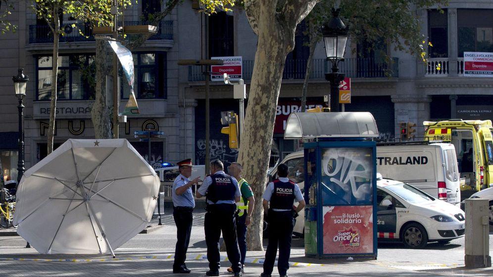 Foto: Las Ramblas en Barcelona tras el atentado. (Efe)