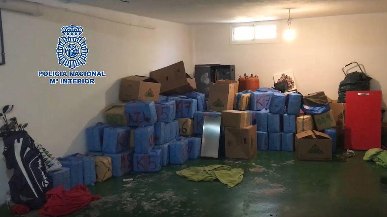 Foto: Captura de las imágenes divulgadas por la Policía Nacional del operativo.