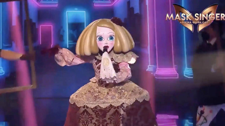 Menina, en 'Mask Singer'. (Antena 3)