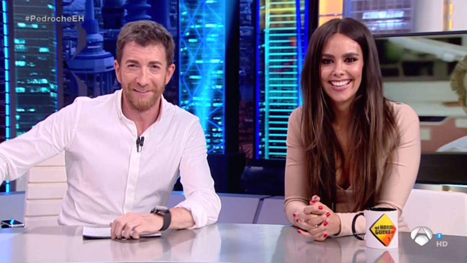 Foto: Cristina Pedroche y Pablo Motos en 'El hormiguero'. (Atresmedia Televisión)