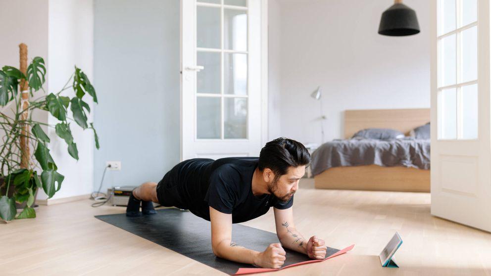 Consejos para no hacerte daño mientras haces ejercicio en casa