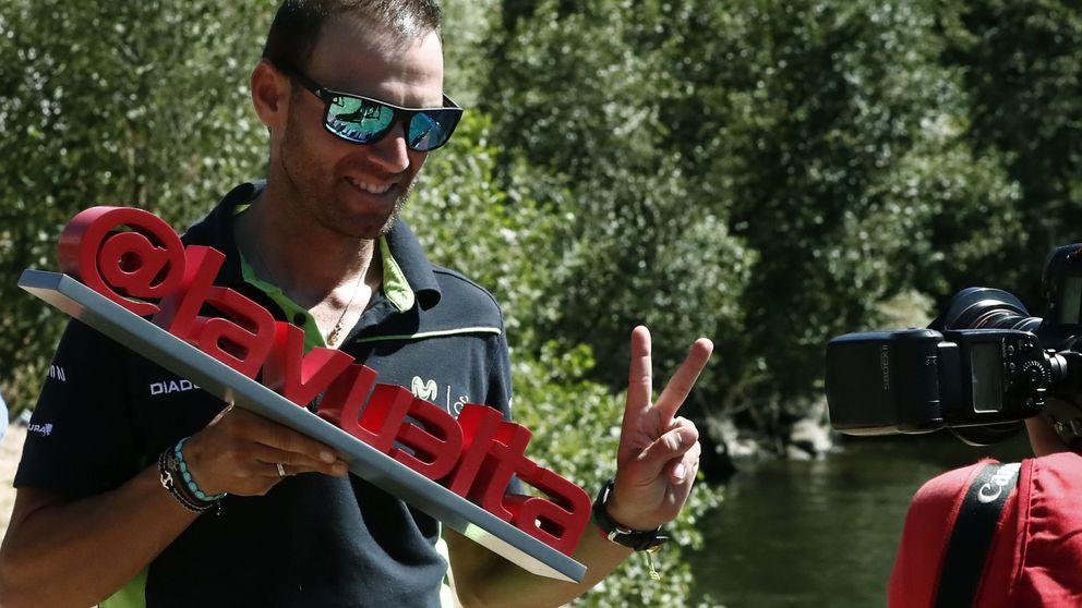 Valverde siempre encuentra un nuevo reto: no pudo dejar de correr la Vuelta