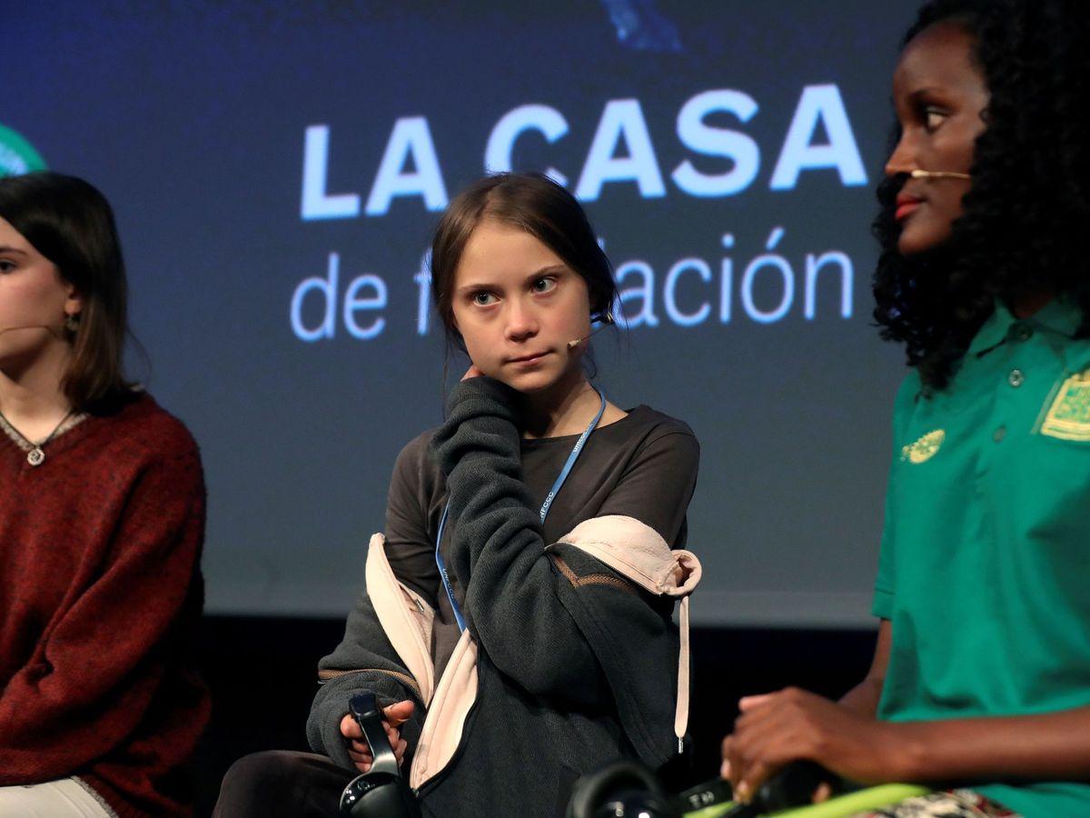 Foto:  La joven activista climática de 16 años Greta Thunberg. (EFE)