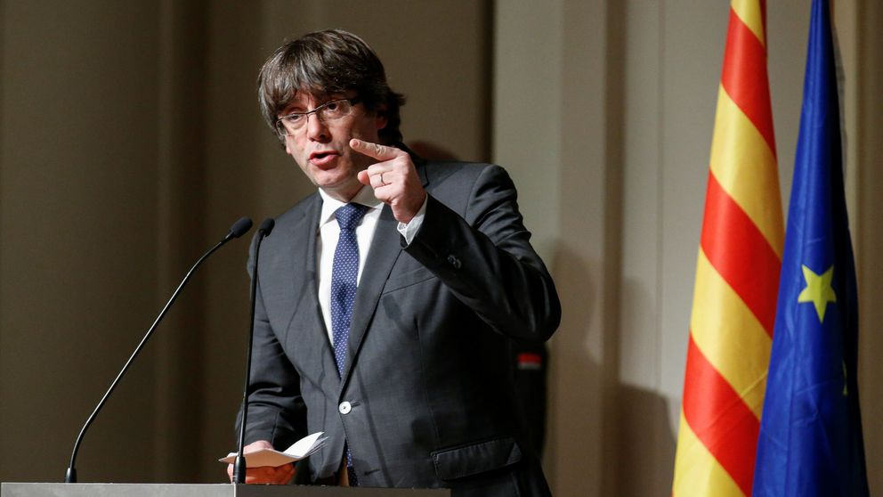 Puigdemont deja ver su frustración en Bruselas y reta a la UE