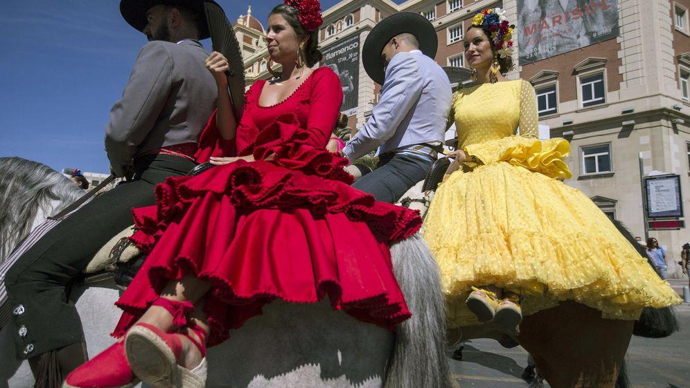Foto: Fotografía de la Feria de Málaga de 2015. (EFE)