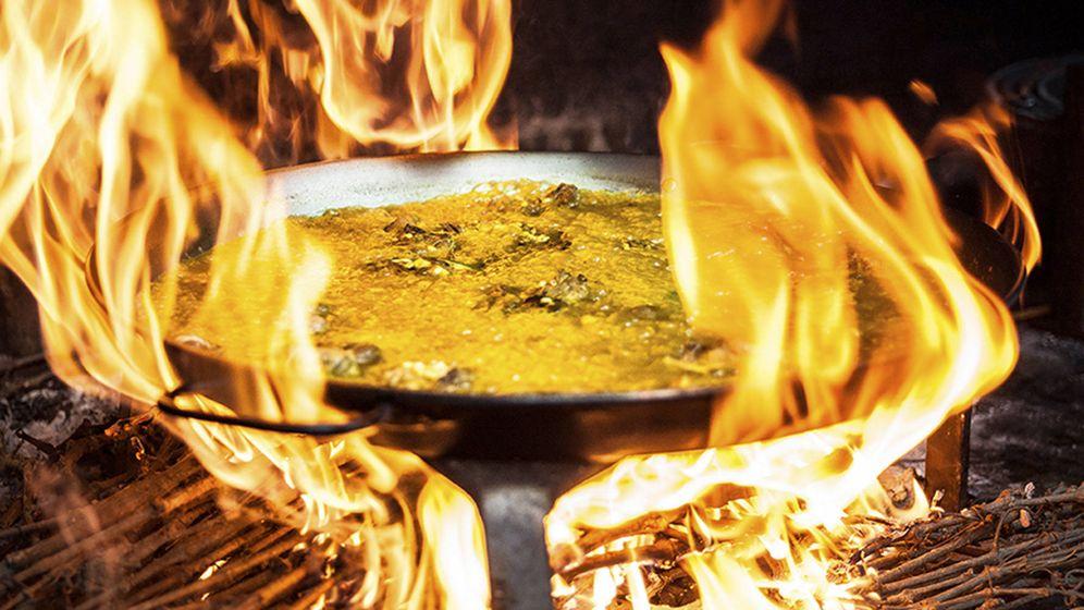 Foto: Una paella es un ritual que mezcla entre sus variados ingredientes, pasión y sabiduría.