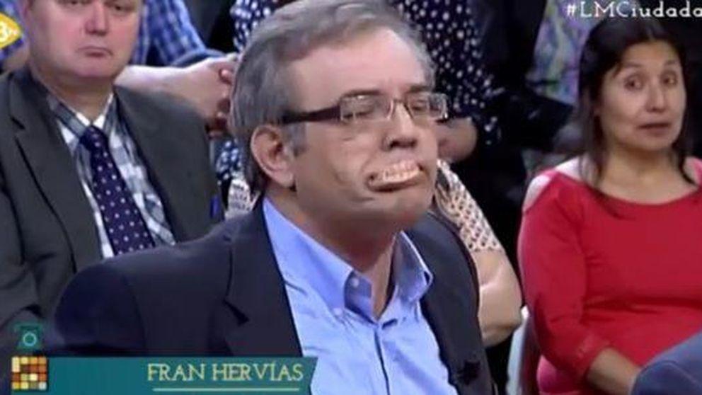 Un tertuliano de 13tv pierde los papeles y… la dentadura