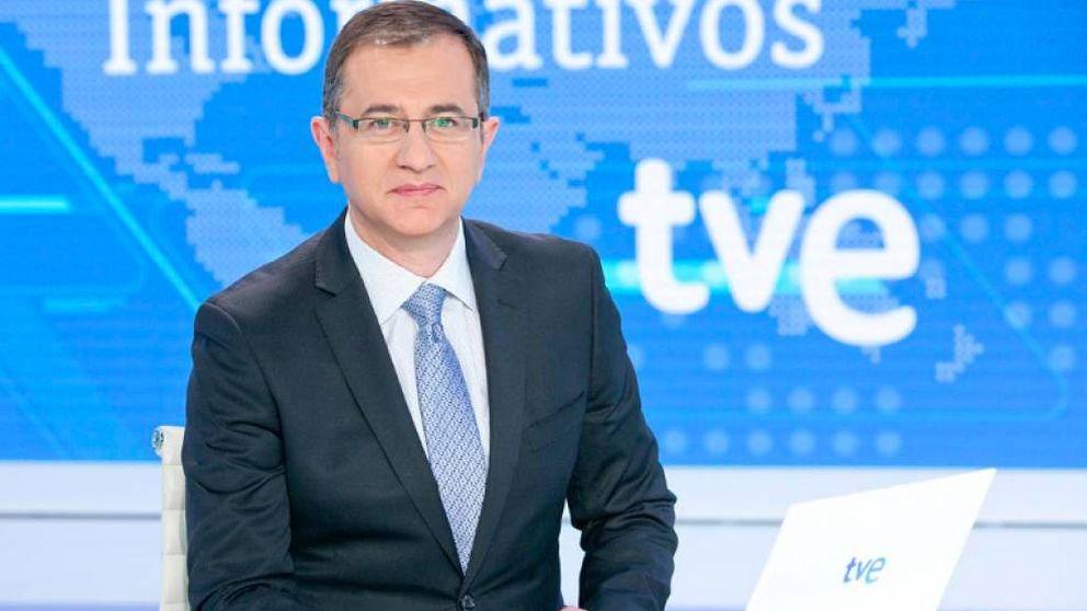 TVE fulmina a Carreño, presentador del 'Telediario Fin de Semana'