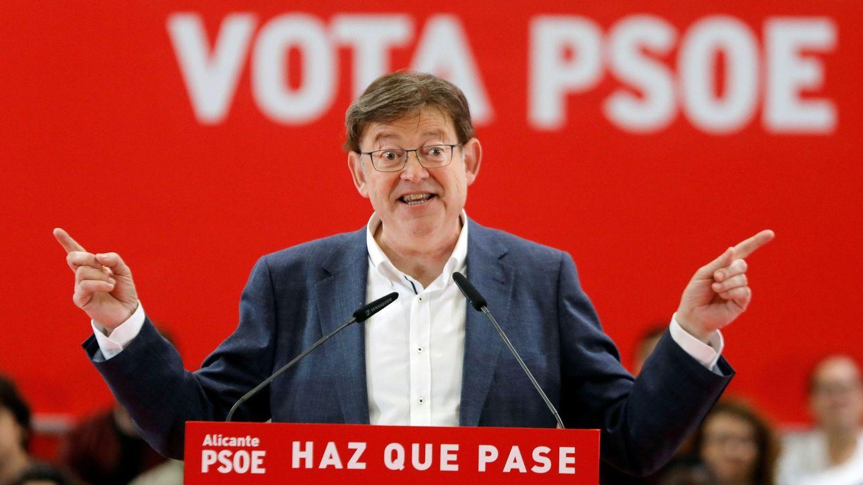 Ximo Puig amplía su ventaja con el PP y podría gobernar con Compromís y Podemos