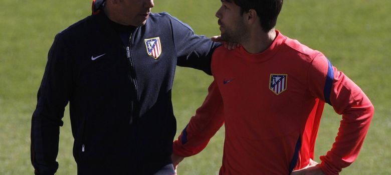 Foto: Simeone sueña con volver a tener a sus órdenes de Diego Ribas (EFE)