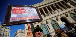 Post de Huelga en Francia: primer pulso sindical contra la gran reforma de Macron