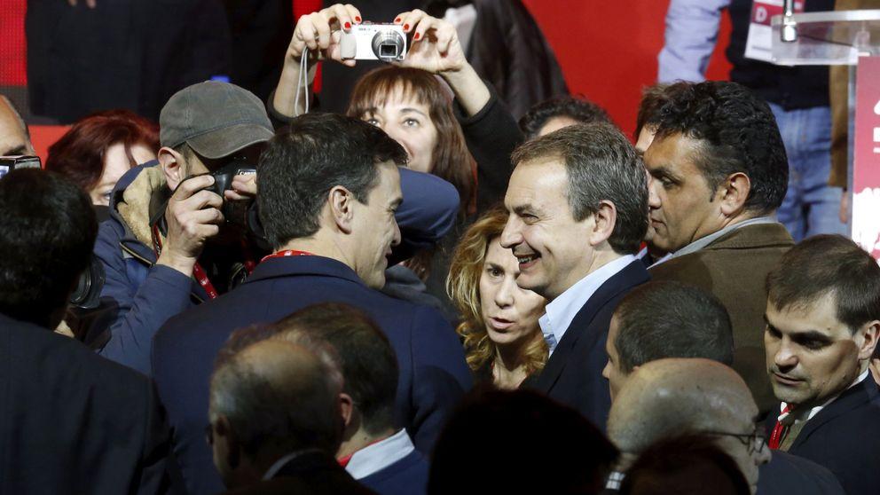Sánchez prepara un gran acto de precampaña con Zapatero y sin González