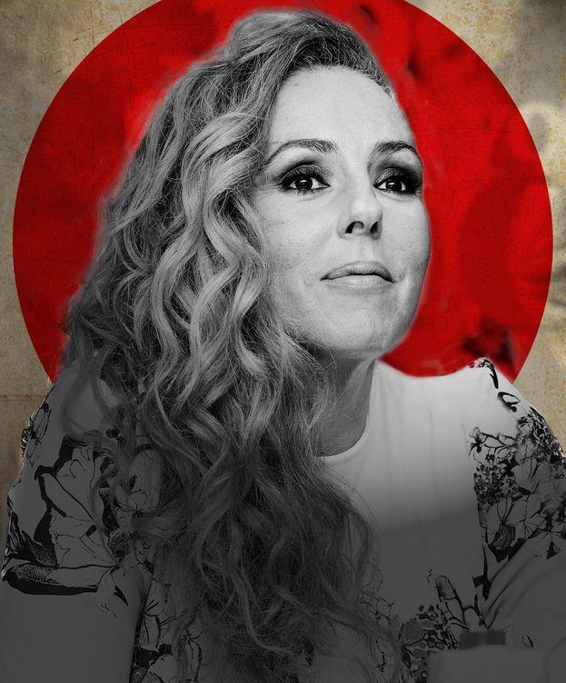 Foto: Rocío Carrasco, en un montaje de Vanitatis.