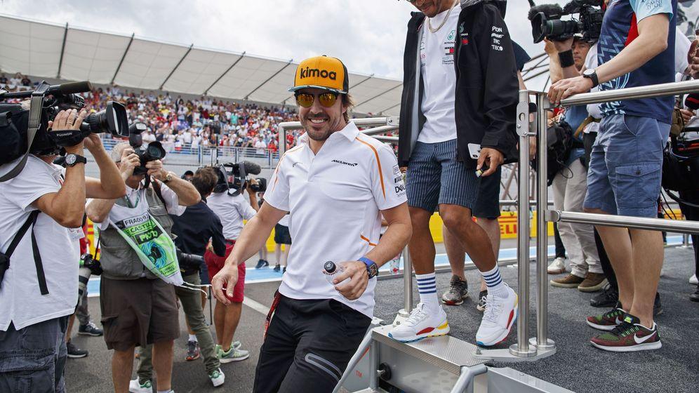 Foto: Fernando Alonso, en el circuito Paul Ricard. (Reuters)