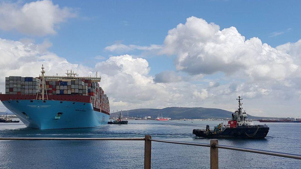 Algeciras capta tráfico de Tánger Med y navega el bajón de Cepsa y Acerinox