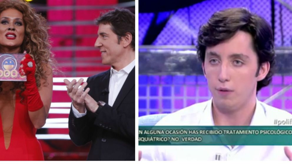 'Sálvame Deluxe' gana a 'Tu cara me suena' con el polígrafo a Fran Nicolás