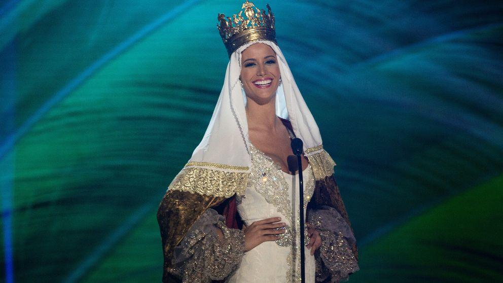 Desirée Cordero recibe la visita del hijo de Hierro en Miss Universo