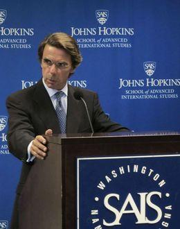 Foto: El expresidente José María Aznar nuevo asesor presidencial de KPMG. (EFE)