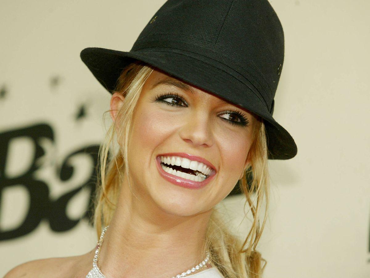 """Foto:  Britney Spears, feliz con sus """"hombrecitos"""". (Getty)"""