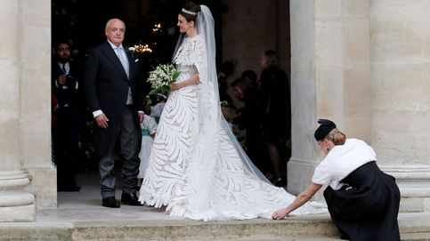 París, Oscar de la Renta y el mejor vestido del día: la boda del heredero de Napoléon