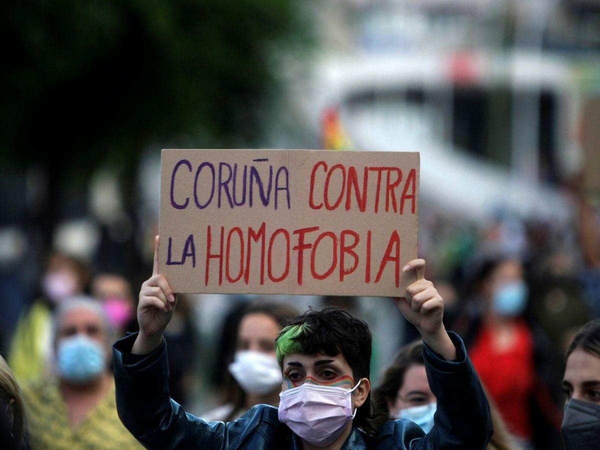 Foto: Protestas por el crimen de Samuel. (EFE)