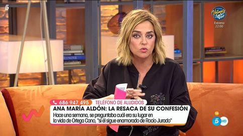 Toñi baja los humos de Ortega Cano por dar a entender que lo obligaron a ir a TV