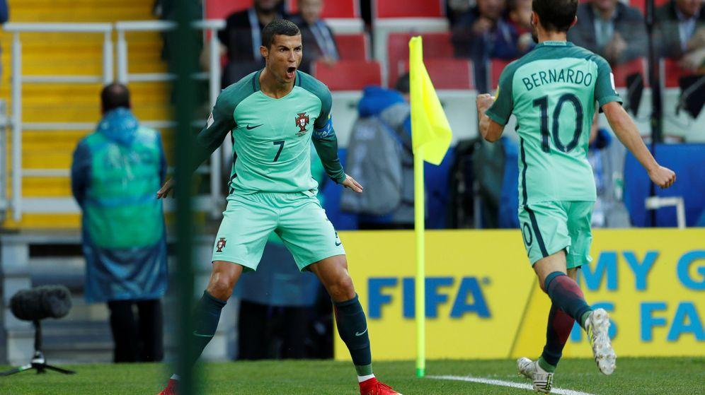 Foto: Cristiano se estrena en la Copa Confederaciones. (Reuters)