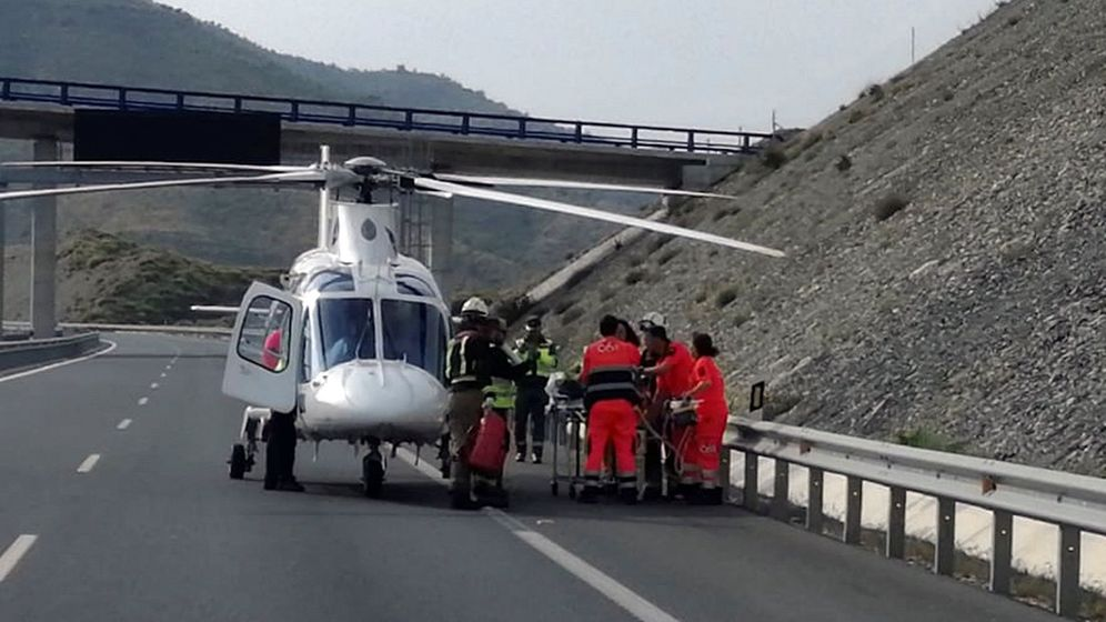 Foto: Los servicios de urgencia no pudieron hacer nada por salvar la vida de la conductora