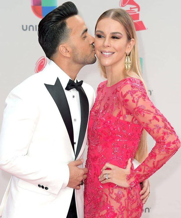 Foto: Luis Fonsi y su mujer, Águeda. (Getty)