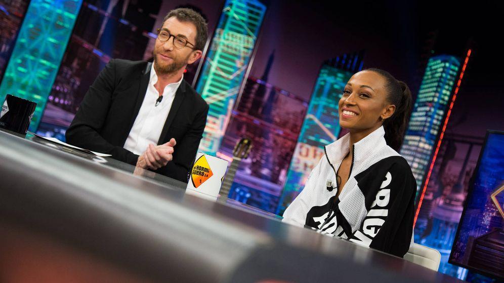 Foto: Ana Peleteiro en 'El Hormiguero'. (Antena 3)