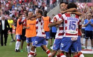 Foto: El Granada elimina al Celta en la tanda de penaltis y sigue soñando con la Primera División