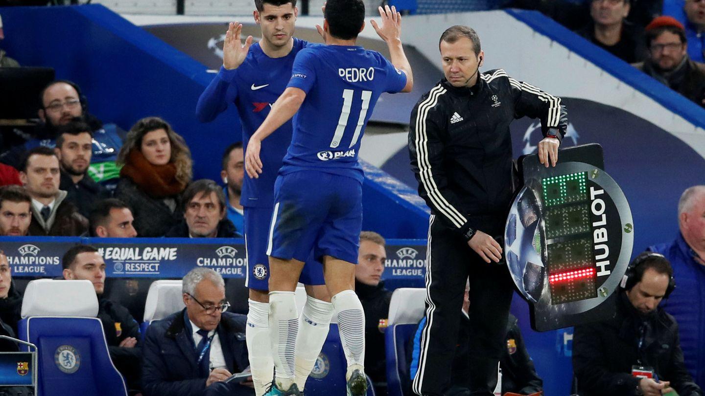 Morata solo ha sido titular en uno de los últimos siete partidos del Chelsea. (Reuters)