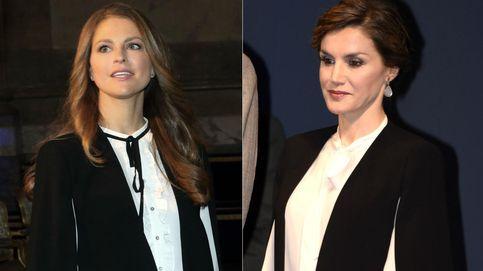Doña Letizia y Magdalena de Suecia: dos damas reales y una misma capa de Zara