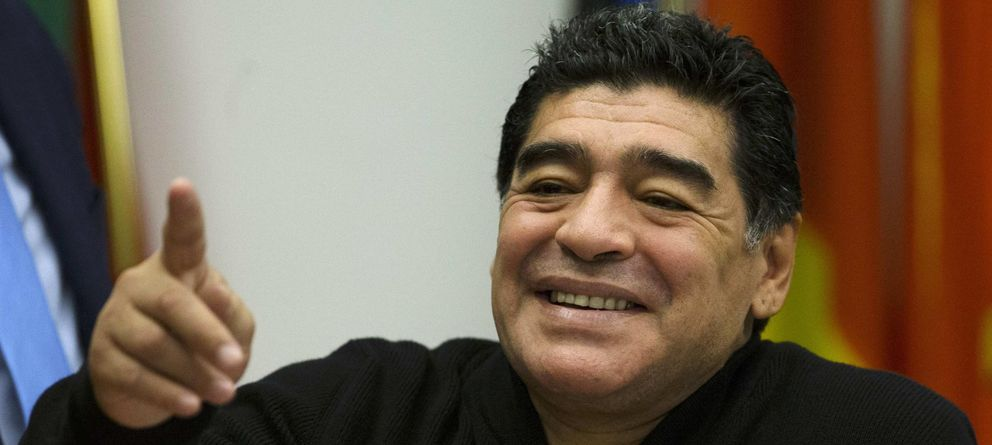 Maradona se vende a la revolución de Maduro por cuatro millones de euros