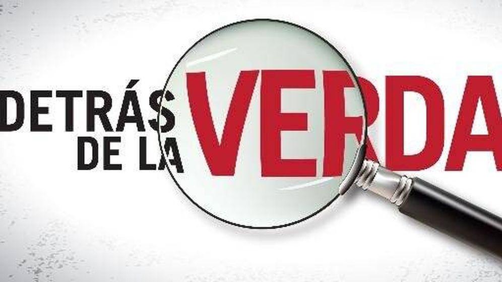 Foto: Logotipo de 'Detrás de la verdad'.