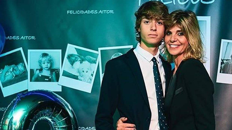 Despixelamos a Aitor, el hijo de Guti y Arantxa de Benito, tras cumplir 18 años