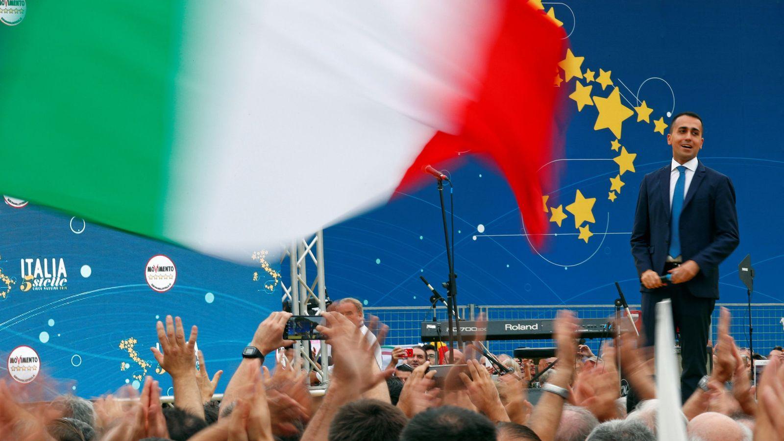 Foto: El vicepresidente italiano y líder del Movimiento 5 Estrellas, Luigi Di Maio. (Reuters)