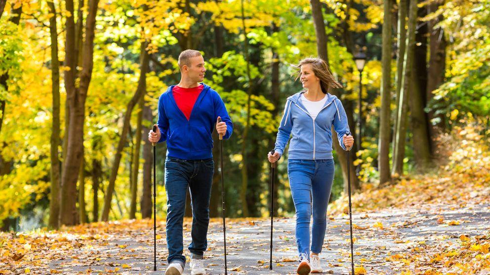 'Nordic walking': la nueva manera de caminar para ponerte en forma rápido