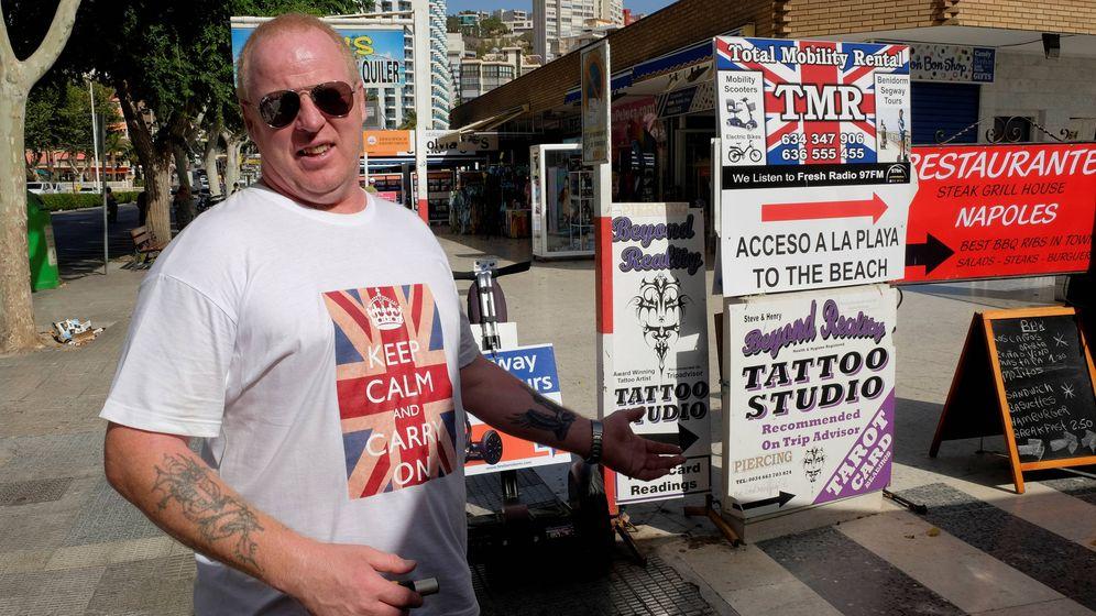 Foto: Los británicos suponen el 50% del total de turistas en Benidorm. (Reuters)