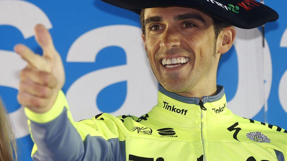Primera alegría de Contador en su camino hacia el Tour de Francia