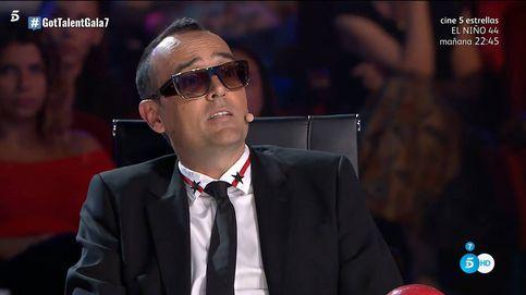'Got Talent' | Risto Mejide se arrastra y pide perdón a un concursante sirio