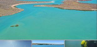 Post de Hallan, bajo el mar, dos de los asentamientos aborígenes más antiguos